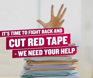 cut red tape